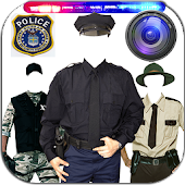 Police Suit Photo Maker Editor