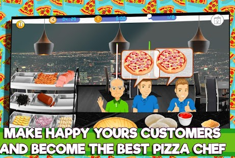Pizza Maker ?Create Yummy Pizzas and serve Drinks - náhled