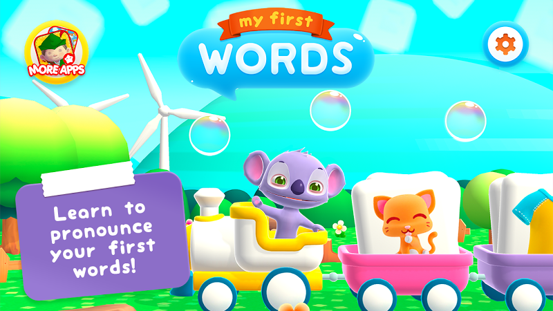 Скриншот My First Words (+2) - Flash cards for toddlers