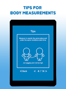 My Body Measurements- screenshot thumbnail