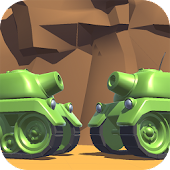 Tanks 3D for 2 players on 1 device - split screen