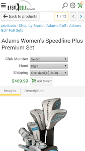 Great Golf Deals.com screenshot 2