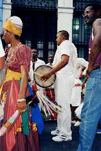 Photo: Oba Koso de Cienfuegos - Festival des Caraïbes de Santiago - 1999?