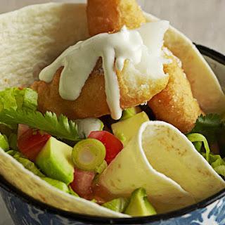 Fish Taco Salad.