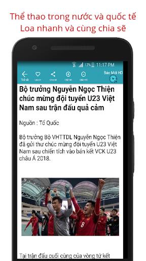 Báo Mới - Doc Bao Moi HD Tin Tuc 24h screenshot 9