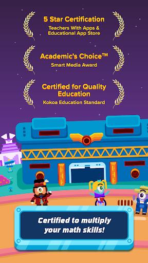 3rd Grade Math: Fun Kids Games -  Zapzapmath Home 1.1.1 screenshots 2