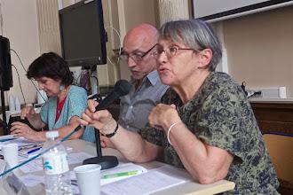 Photo: table ronde 2 : L'école et les formes actuelles d'intégration