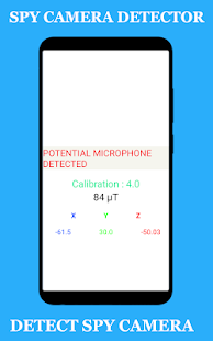 Hidden devices detector - Spy camera detector for PC-Windows 7,8,10 and Mac apk screenshot 2