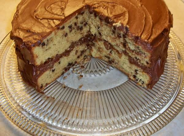 Banana Chocolate Chip Nut Cake Recipe