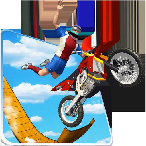 Mega Ramp Stunt Bike Racing Impossible Tracks Game