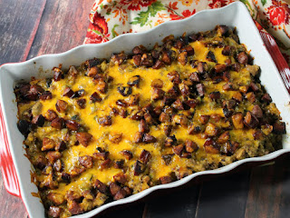 Andouille Stuffing Casserole Recipe