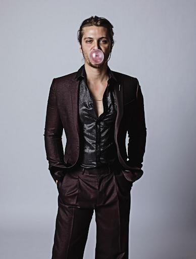 Luke Grimes in Dior Homme