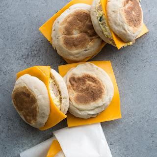 Freezer-Friendly Frittata Breakfast Sandwiches.