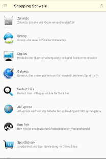 Shopping Schweiz Online – Miniaturansicht des Screenshots