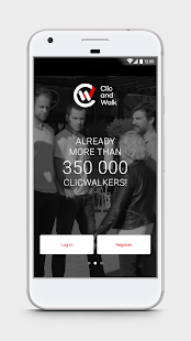 Clic and Walk - Earn money- screenshot thumbnail