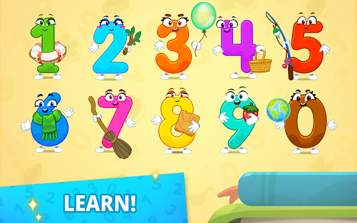 Numbers for kids! Counting 123 games!  screenshots 2