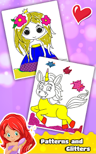 Princess Coloring Book for Kids & Girls 🎨 - Android Apps on ...