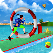 Stuntman Water Park Simulator:Impossible Games 3D