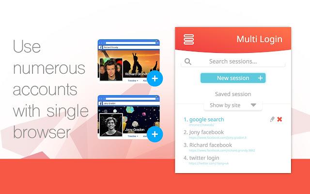 Multi Session Box - Multi login any website