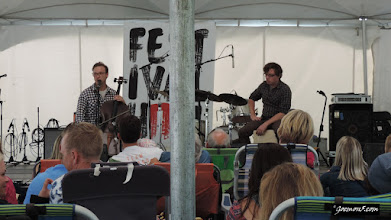 Photo: Ben Sollee at the 2015 Calgary Folk Music Festival