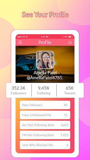 Likes & followers for All Social Media 1.0 screenshots 2