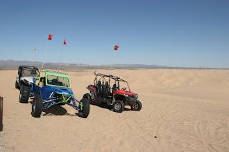 Photo: Die Spielzeuge für die Wüste