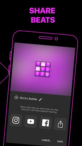 Electro Drum Pads 24 - Music & Beat Maker 2.5.5 screenshots 6