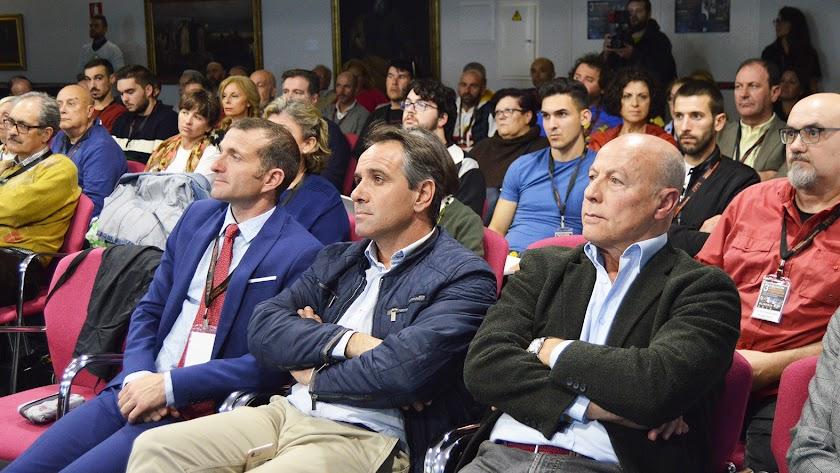 El concejal de deportes, Juanjo Segura, asistió al evento.