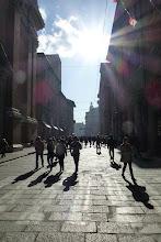 Photo: Bologna, via Indipendenza, 3 novembre 2013