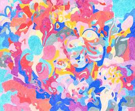 """Photo: Тадеуш Жаховский """"Бабочки. Butterflies"""" Title: Butterflies / Бабочки Artist: Tadeush Zhakhovskyy / Тадеуш Жаховский Medium: Painting. mixed techique on cardboard, смешанная техника, дизайнерский картон. 50 cm x 61 cm x / 20 in x 24 in. In private collection. Доступна авторская вариация под заказ. Отправьте запрос в галерею. Также предлагается напечатанная на холсте репродукция этой картины в любом размере."""
