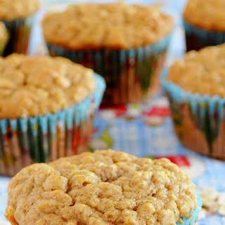 Oatmeal Applesauce Muffins.