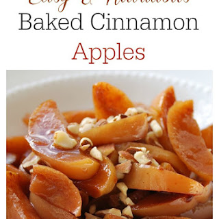 Baked Cinnamon Apples.