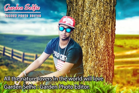 Garden Selfie Photo Editor : Garden Photo Frame - náhled