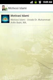 Ceramah Motivasi Islami - náhled