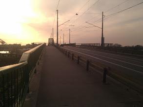 Photo: Suddenly, I found myself on the bridge to Novi Beograd. So I _had_ to cross it..