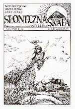 """Photo: Pierwsze drukowane na ksero egzemplarze """"Słonecznej Skały"""""""
