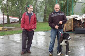Photo: BONUS z gory Jezowskiej, miglior soggetto classe Giovani fino a 12 mesi, presentato al Seminario tenuto da Alihon Latifi, giugno 2012 - Rep. Ceca