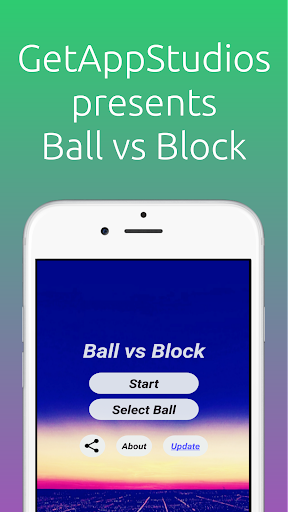 Ball vs Block (World-Wide Rank)  captures d'écran 1