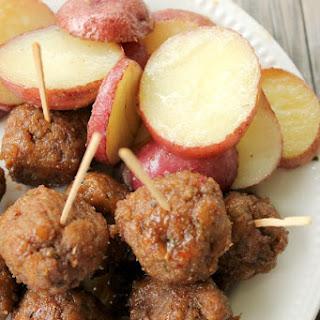 Spicy Brown Sugar Turkey Meatballs