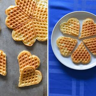 Great-Grandma Josephine'S Norwegian Waffles with Cardamom (Vaffler) Recipe