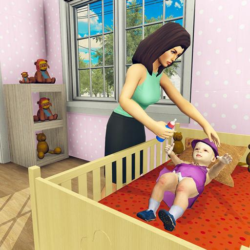Real Mother Simulator 3D - Baby Care Games 2020