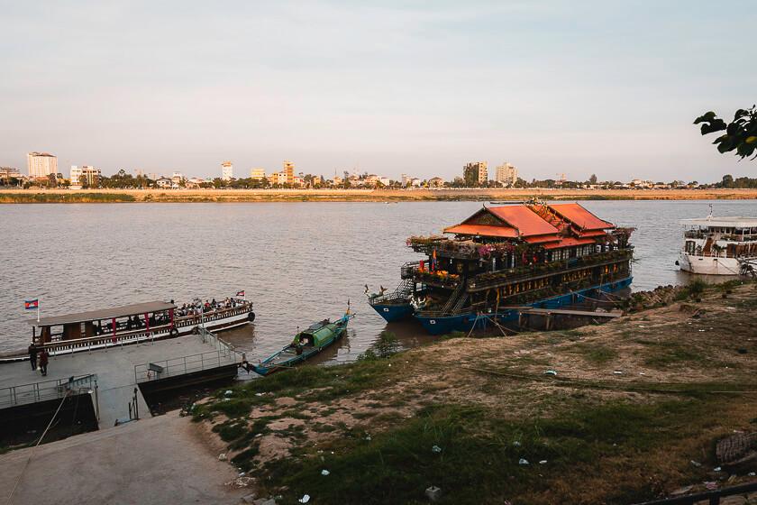 Mekong delta river cruise.