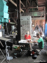 """Photo: The banding setup in """"Dexter's Laboratory"""""""