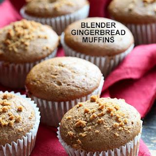 Gingerbread Muffins - Blender Triple Ginger Muffins