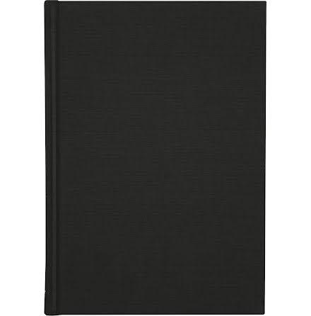 Ant.bok Linne A5 linj svart