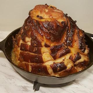 Pressure Cooker Maple Glazed Holiday Ham.