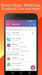 Call Recorder – Cube ACR Premium Apk (Mod + PRO Unlocked) 2