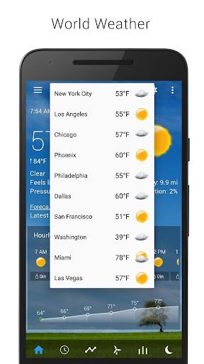 Sense Flip Clock & Weather 5.77.0.2 screenshots 6