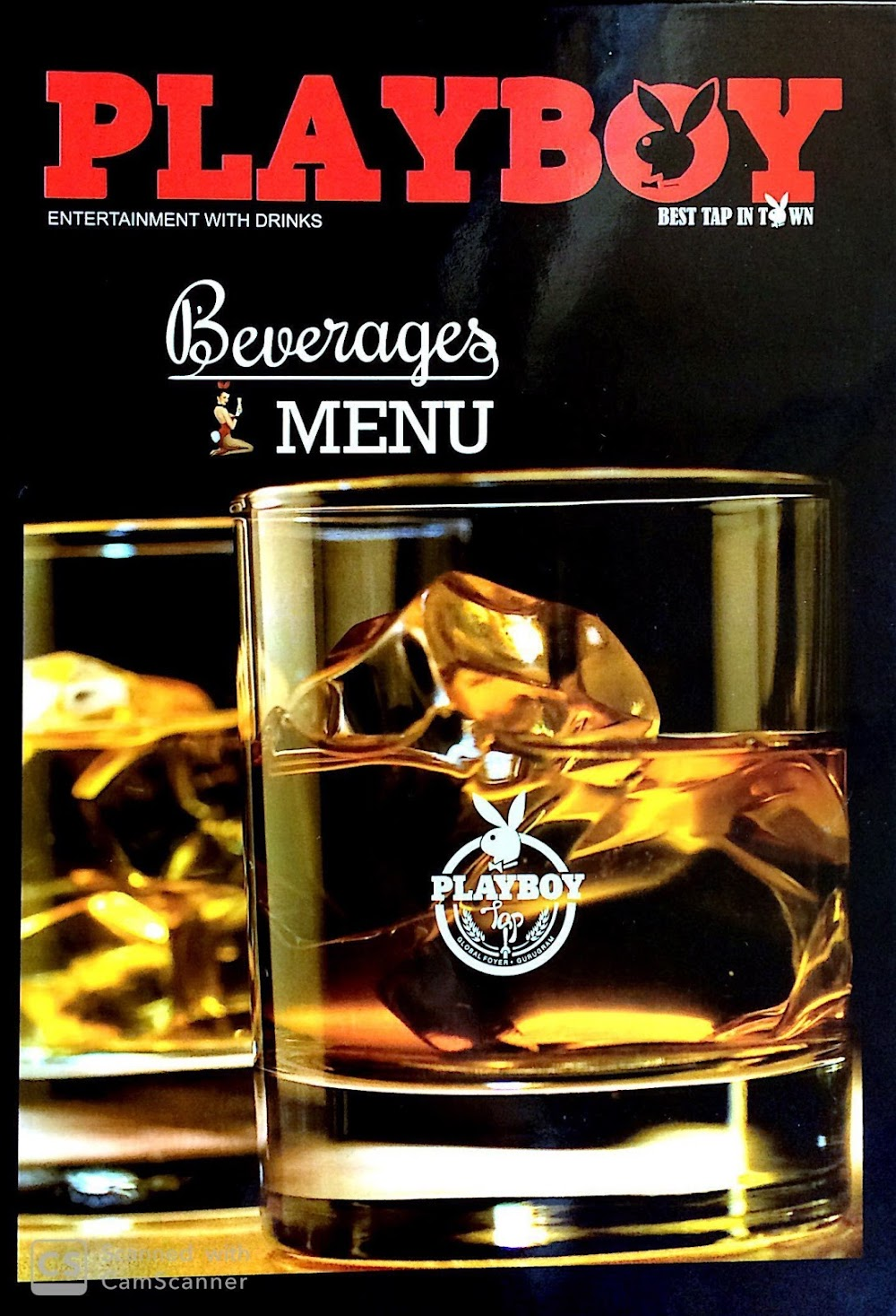 Playboy Tap menu 2