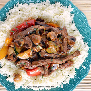 Saucy Korean Beef Stir Fry